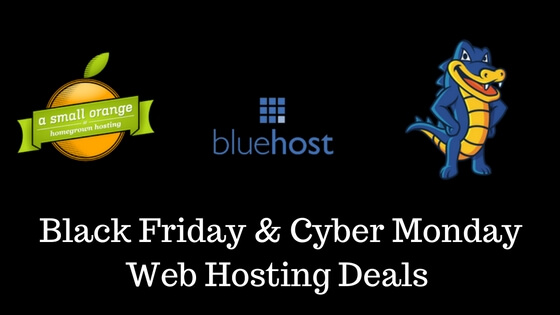 Best Black Friday 2016 Web Hosting Deals