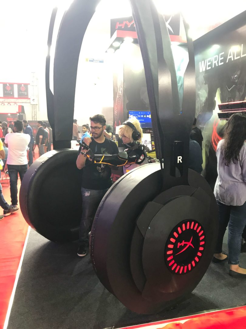 HyperX booth_ESL Hyderabad
