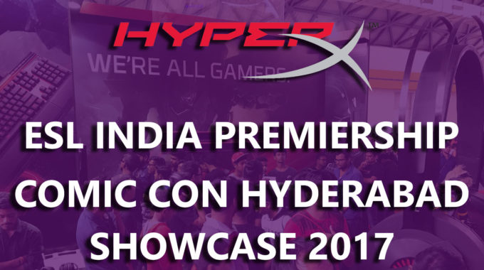 HyperX Gaming Phenomenal Experience at Maruti Suzuki Comic Con