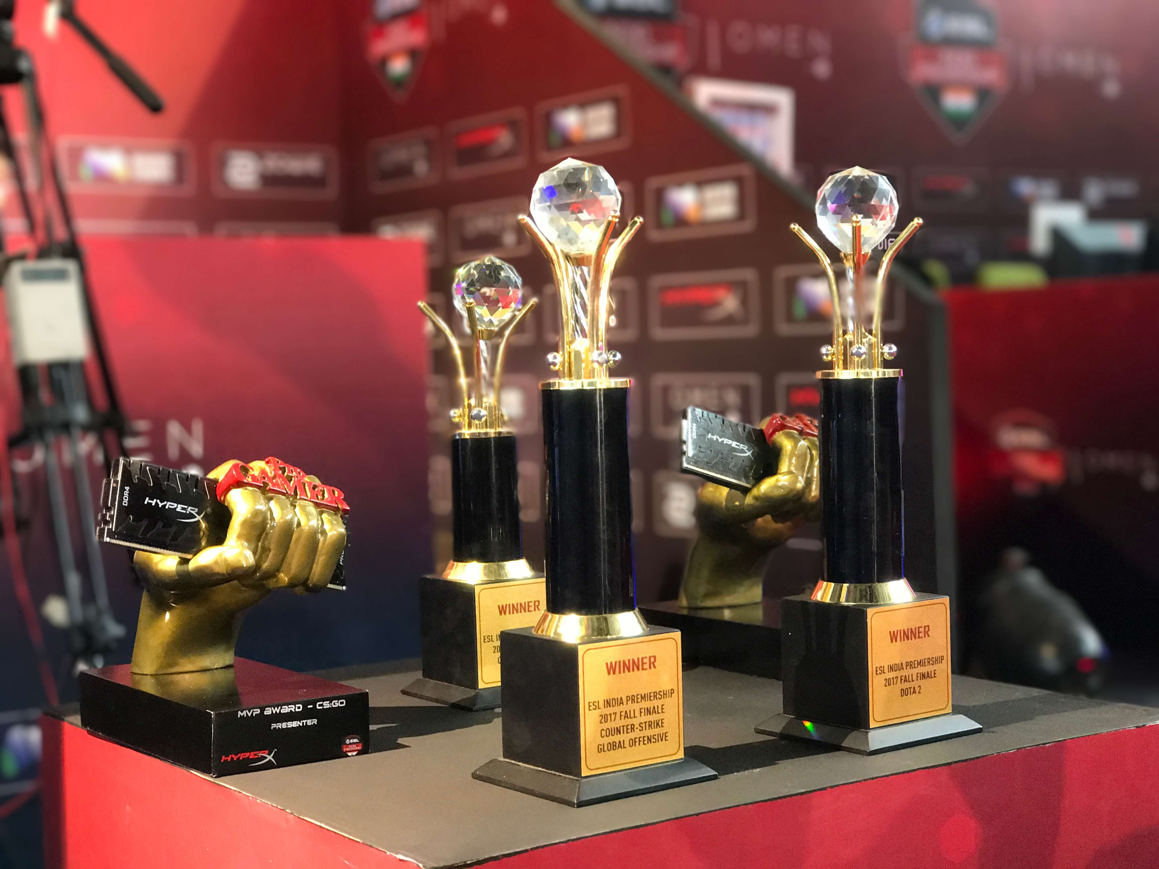 Tournament Trophies_Reference only_ESL Hyderabad